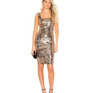 Bardot Neve Sequin Dress